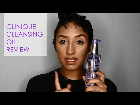 Clinique Cleansing Oil Review