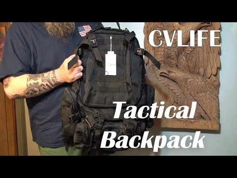 ⭐TACTICAL BACKPACK CVLIFE MILITARY RUCKSACK (50L) Product Review 👈