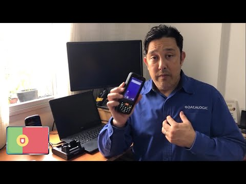 Datalogic MEMOR K demonstration video (Portuguese only)