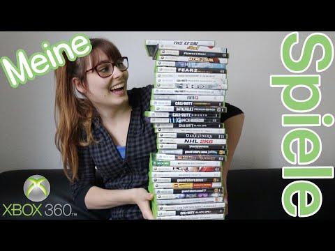 Das sind meine Xbox 360 Spiele 🎮
