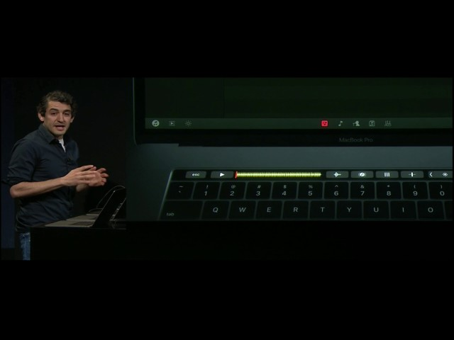 New Macbook Pro with TouchStrip - DJ's