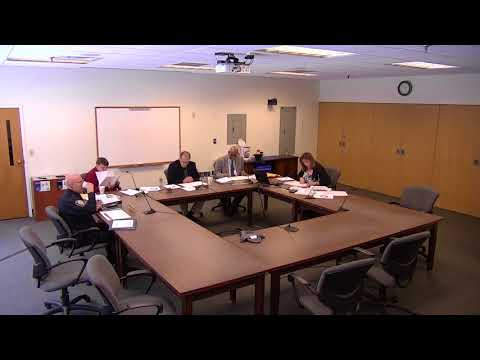 Police Commission Work Session 3.21.18