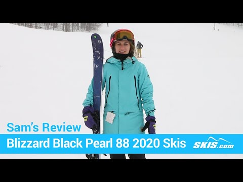 Video: Blizzard Black Pearl 88 Skis 2020 17 40