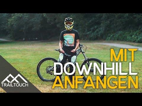 Downhill fahren: Wie fängt man an? - TrailTouch