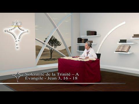 Solennité de la Trinité A - Évangile