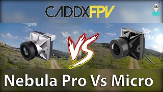 Caddx Nebula Pro Vs. Nebula Micro V2 (Watch In 4K)
