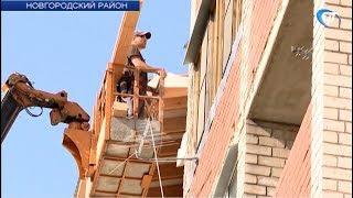 Восстановление пострадавшего от пожара дома в Панковке должно закончиться к 1 сентября