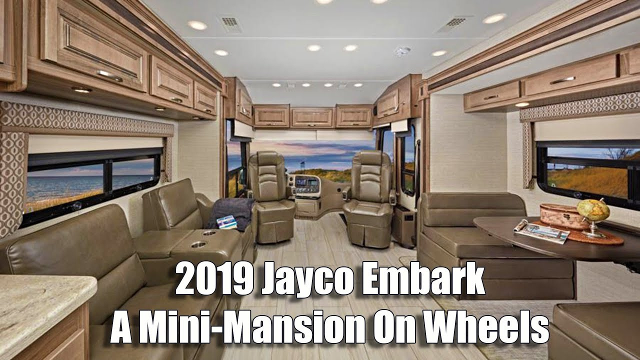 2019 Jayco Embark Class A Diesel Motorhome (RV) – A Mini-Mansion On Wheels
