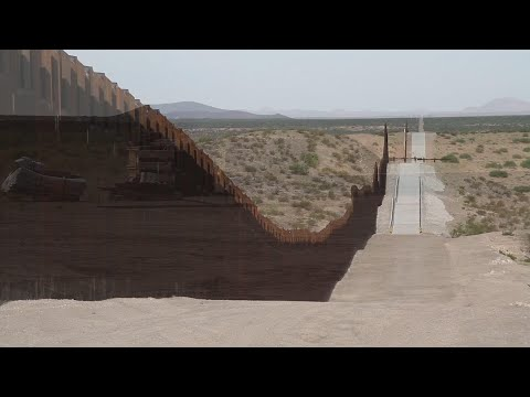 Work crews in Arizona and New Mexico are forging forward with construction on taller border fencing funded through President Donald Trump's national emergency declaration. (Aug. 23)