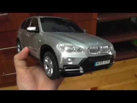 Игрушка BMW X5 от RASTART/Обзор машинки БМВ на пульте управления