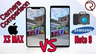 Apple iPhone XS Max VS Samsung Galaxy Note 9 Camera Comparison!