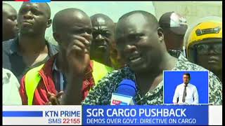 Demonstrations held to pushback on Government directive on the use of SGR to transport cargo