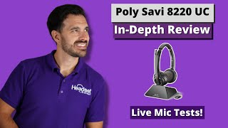 Plantronics (Poly) 8220 UC In-Depth Review: USB + ANC + DECT!