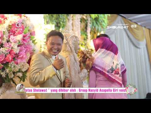 GROUP SHOLAWAT CAMPURAN 1 - LAILATUS SHOLAWAT ( WEDDING HUBBAN & SHOFIA ) 2018