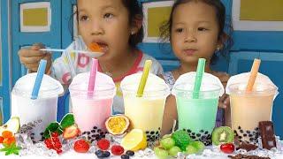 Trò Chơi Trà Sữa ❤ KN Cheno kn chânnel ❤ Đồ Chơi Trẻ Em toys for kids