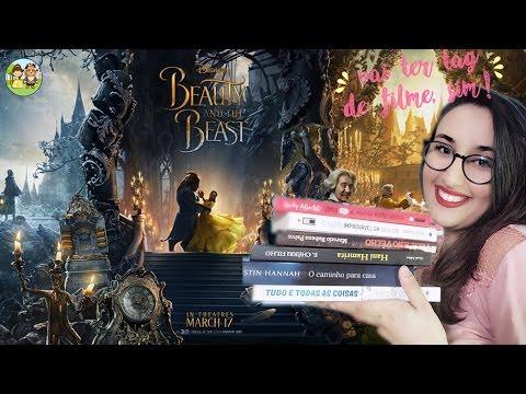 BOOK TAG: A Bela e a Fera | por Carol Sant