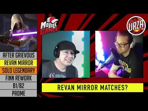 Revan Mirror Matches - Darth Revan/Malek - Solo Legendary