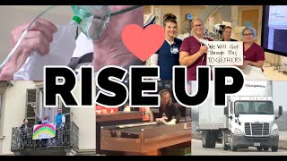 Brigitte Wickens - COVID-19 Together We Will Rise Up