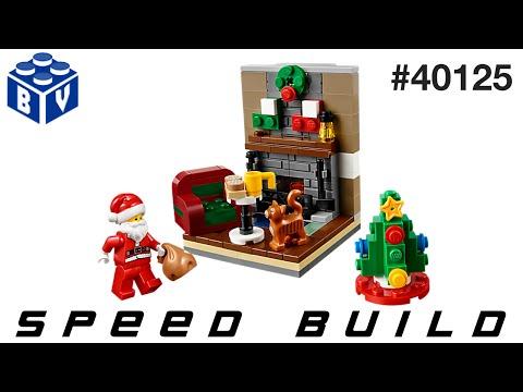 Vidéo LEGO Saisonnier 40125 : La visite du Père Noël