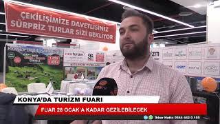 Konya'da turizm fuarı