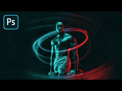 dual lighting effect in adobe photoshop tutorials by piximperfect