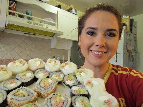 como hacer sushi?