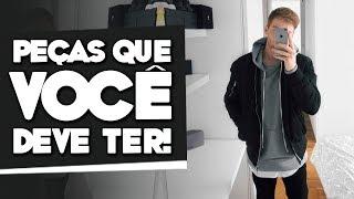 10 Peças INDISPENSÁVEIS No GUARDA ROUPA MASCULINO, Quais São Elas?