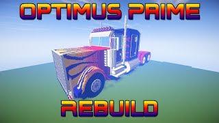 Minecraft - Optimus Prime Rebuild + Full Interior (SUPERSIZED)
