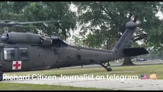 8/7/21 Richard Citizen Journalist DC Update- Military/NG Training Exercise Today-Lift Off!!