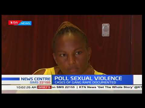 Human Rights Watch release report on sexual violence during polls perpetrated by the police