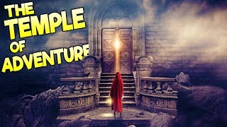 GREATEST GAME EVER MADE!? Tomb Raider Meets The Stanley Parable - Temple of Adventure Gameplay