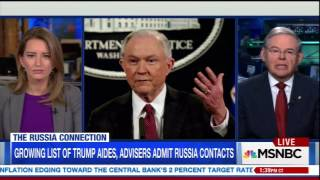 Menendez on MSNBC on Sessions Recusal and Russia Investigation