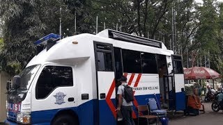 Polrestabes Bandung Gelar Pelayanan SIM Keliling Ngabuburit dan Pembagian Takjil
