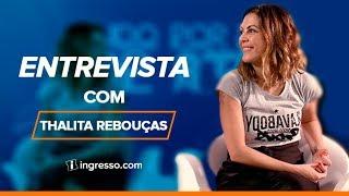 Entrevista com Thalita Rebouças | Tudo Por Um Pop Star | Ingresso.com