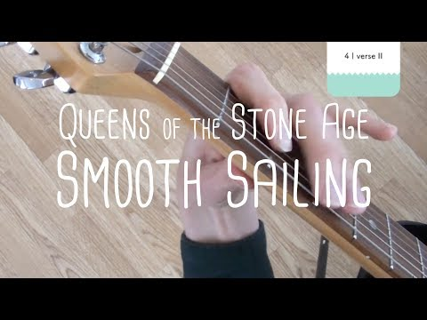 How to play Smooth Sailing Queens of the Stone Age | Guitar Lesson