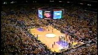 NBA on NBC 2000 Lakers VS Blazers Intro
