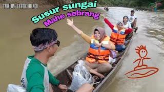 preview picture of video 'Wisata Air Susur Sungai Mahe Seberang Kab. TABALONG'
