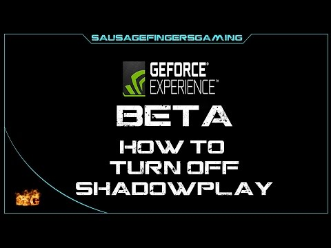 AFFECTS FPS* NVIDIA SHADOWPLAY (in-game overlay and share