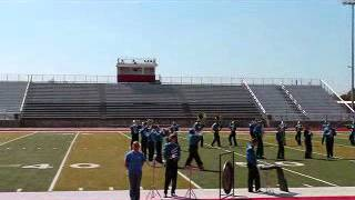 Peaster High School Marching Band 2012 UIL Region VII Marching Band Contest