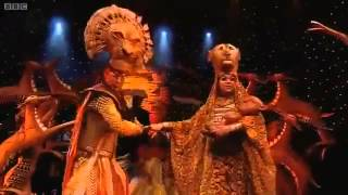 The Lion King Circle of Life Olivier Awards