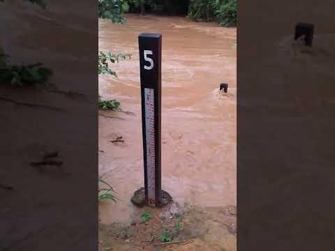 Cidade de afonso claudio quase dando enchente