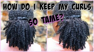 "HOW TO ""TRAIN"" YOUR CURLS 