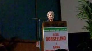 preview picture of video 'Rita Borsellino a Ribera Seconda Parte'