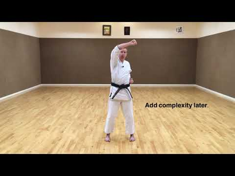 Beginning Karate: Rising block (Age-uke)