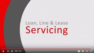 Oracle Financial Services Lending and Leasing – Servicing Module