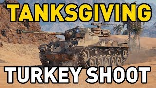 World of Tanks || TANKSGIVING TURKEY DAY