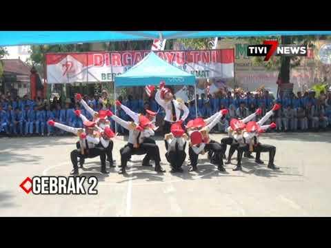 NGANJUK - BRIGASPARA SMA NEGERI 1 BERBEK HUT TNI 72