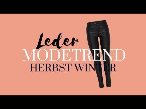 """""""weiches"""" Leder   Einer der 10 größten Modetrends Herbst Winter 2018 2019   Modeblog Mode Trends"""
