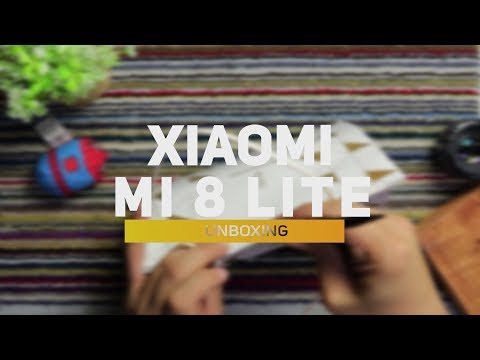 Xiaomi Mi 8 Lite Unboxing and Preview
