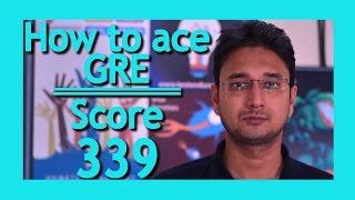 GRE prepration in 40 days  | GRE vocabulary | GRE  score 330+